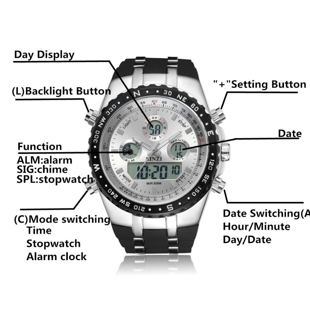 BINZI ბრენდის - მამაკაცის საათები - ფოტო 2