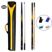 PREOAIDR 3142 S2 Break Cue Punch Jump Pool Stick 12.75mm 11.5mm Tip Black White Color with Case Set China