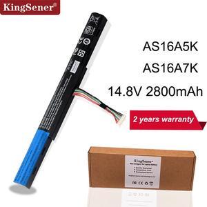 KingSener New AS16A5K AS16A7K AS16A8K Battery For Acer Aspire E15 E5-475G 523G 553G 575G 774G E5-575-59QB E5-575 E5-575G-53VG(China)