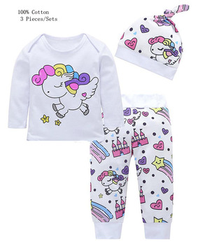 e1af0b6db 3 Pieces Infant Girl Clothing Sets
