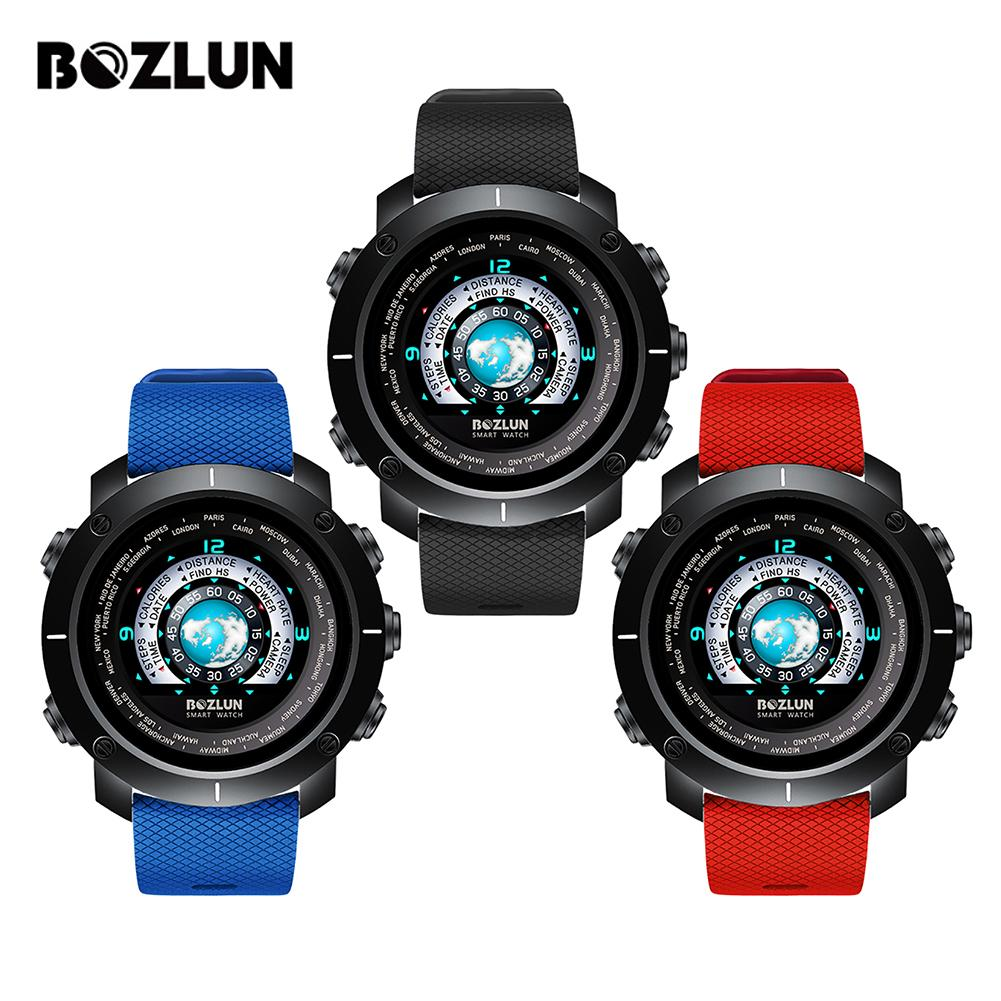 BOZLUN W30B Version Plastic Case Outdoor Sports Color Screen Smart Watch Support Heart Rate Health Monitoring & Smart ReminderBOZLUN W30B Version Plastic Case Outdoor Sports Color Screen Smart Watch Support Heart Rate Health Monitoring & Smart Reminder