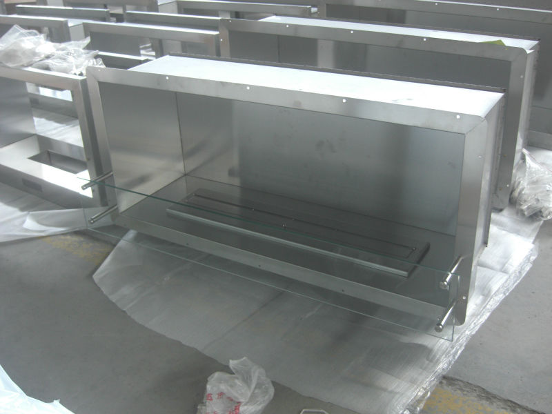 304#Stainless Steel Fireplace Frame