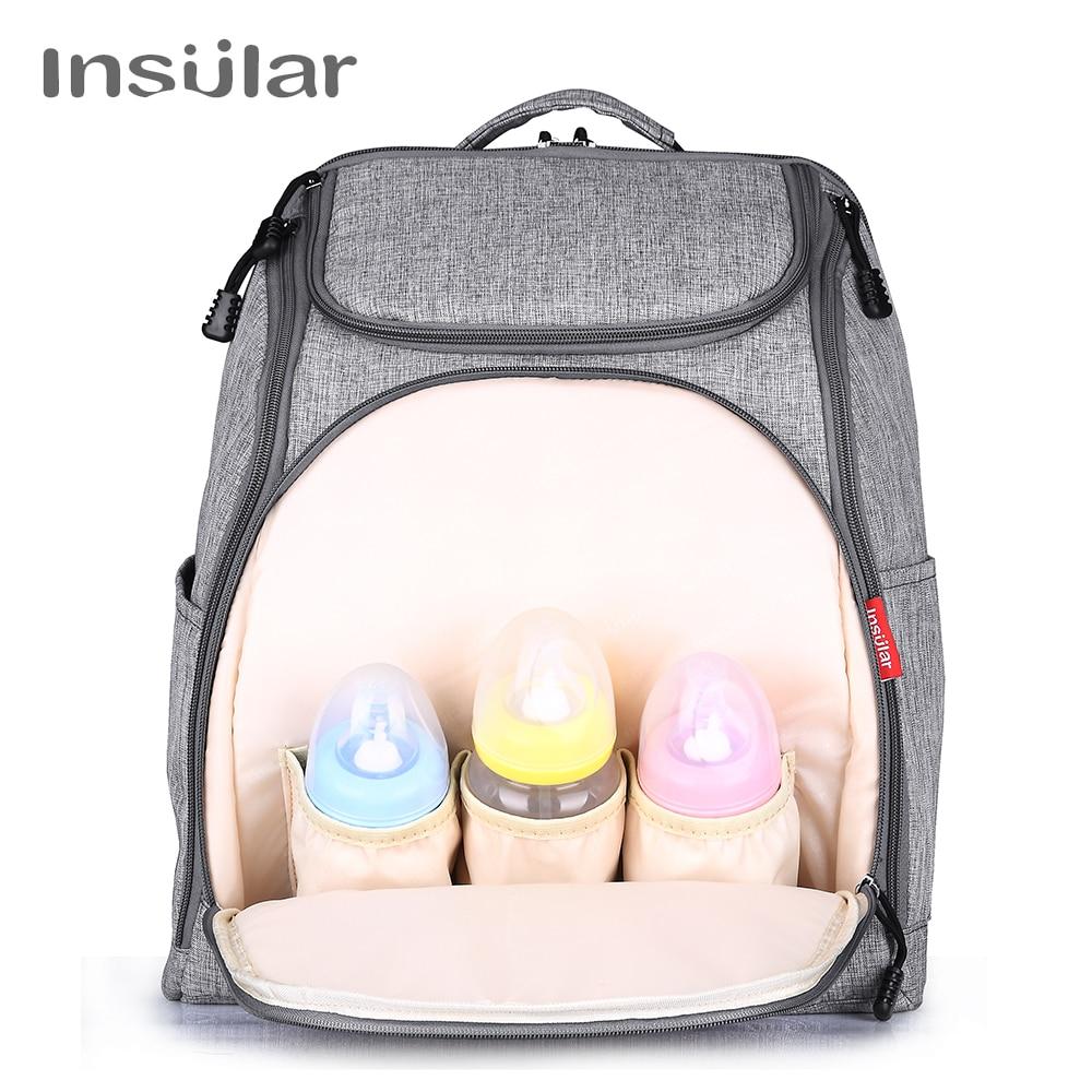 Multifunctional Mummy Maternity Nappy Diaper Bag Large Capacity Baby Bag Travel Backpack Diaper Organizer Nursing Bag M57