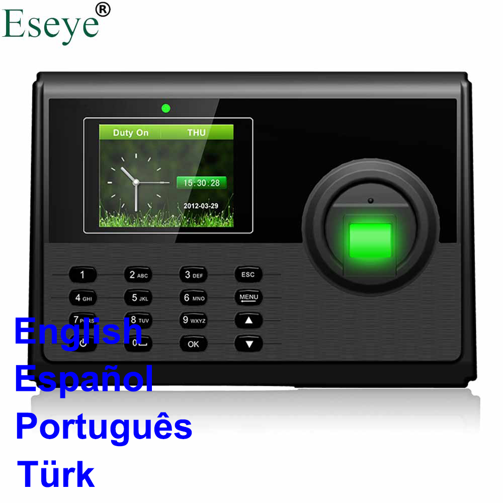 Eesye Employee Attendance System Fingerprint TCP IP Biometric FIngerprint Time RFID Attendance Aystem Time Clock Time Recorder free shipping ko h26t tcp ip biometric fingerprint time attendance time clock time recorder