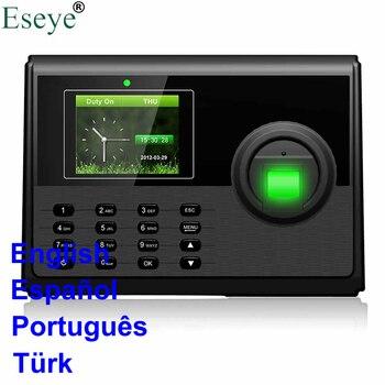 Eesye Mitarbeiter Teilnahme System Fingerprint TCP IP Biometrische FIngerprint Zeit RFID Teilnahme Aystem Zeit Uhr Zeit Recorder