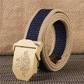 2017 Новый Мужской Высокое Качество Холст пояса мужской случайные открытый Ремни Для Джинсов ремень на холсте Женщины, YXL014