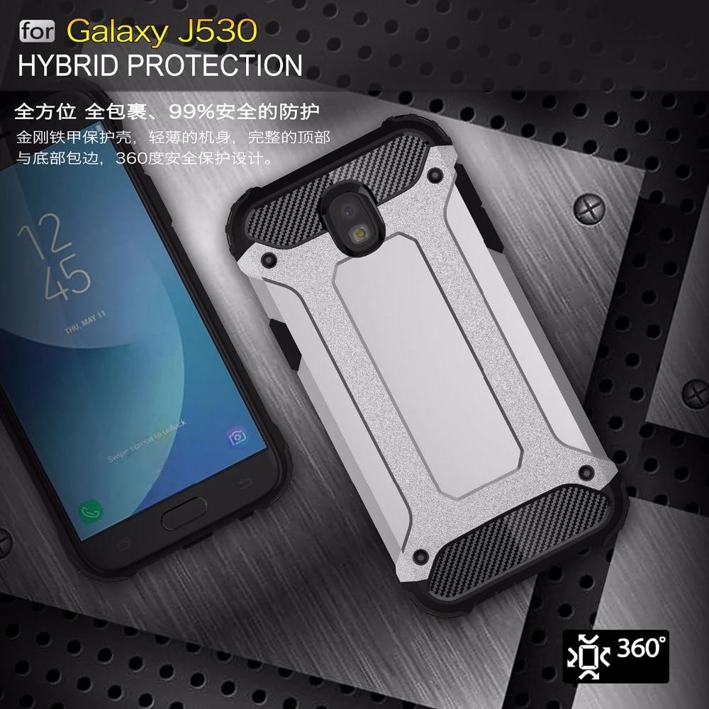 Coque blindée antichoc antichoc pour Samsung Galaxy, compatible modèles J4, J6 Plus, J8, J2 Core Prime 2018, J5, J7, J3 Pro, 2017, 2016