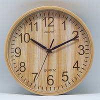 Simple Large Luxury Quartz Wall Clock Wooden Wood Digital Wall Clock Mechanism Cannabis Weed Reloj Nordic Design Clocks 50KO508