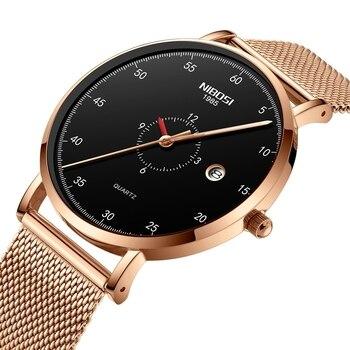 NIBOSI 2019 Mens Watches Top Brand Luxury Men's Casual Waterproof Watch Men Ultra-thin Quartz Clock Male Watch Relogio Masculino