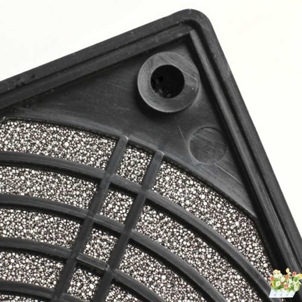 120X120X10mm שחור Dustproof ABS פלסטיק תכליתי באיכות גבוהה מגן כיסוי רשת מקרה מאוורר אבק מסנן עבור מחשב
