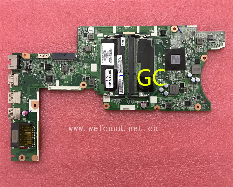 laptop Motherboard For 13Z-A 13-A DA0Y72MB6C0 769075-001 779642-001 system mainboard Fully Tested laptop motherboard for 4515s 4415s 585219 001 system mainboard fully tested