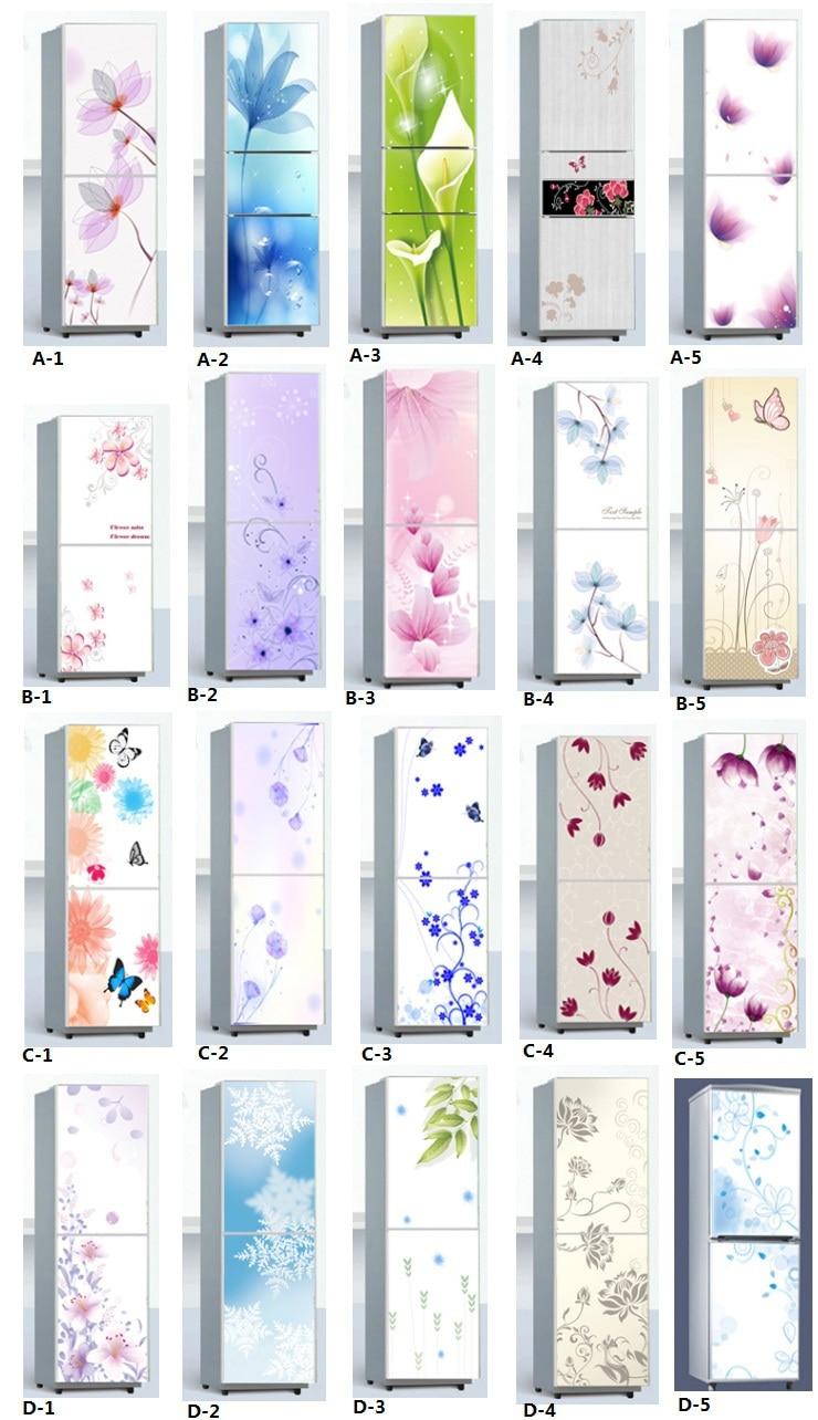 Autoadesiva carta da parati cwpeu079 per frigorifero e for Decorazioni adesive per mobili