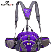 TOPTETN 2019 new bicycle camping outdoor waist bag men Sports and leisure backpack 4-in-1 Bicycle