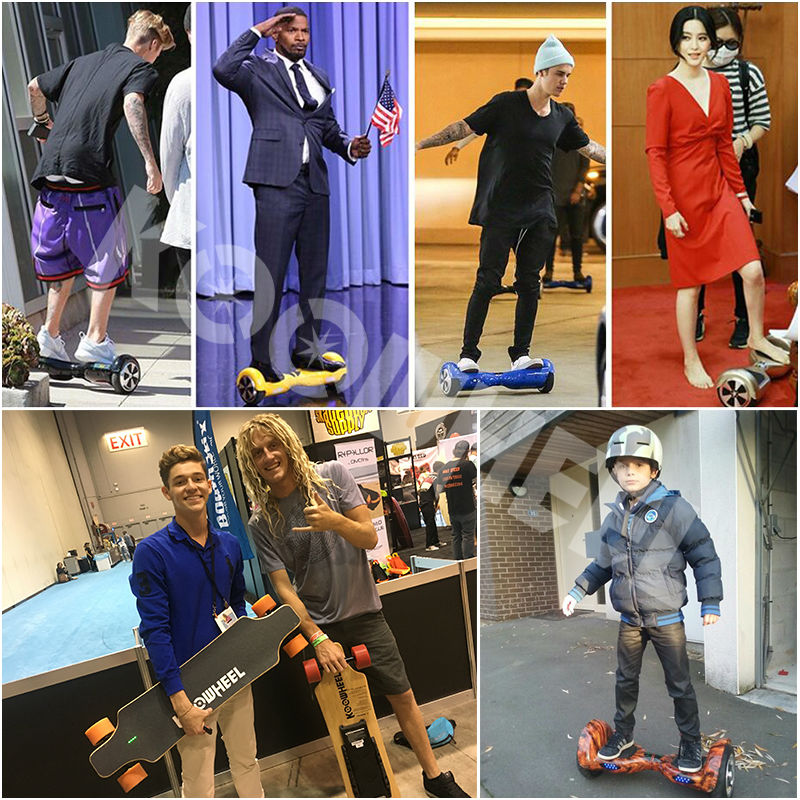Hoverboards 6.5 pouces bluetooth