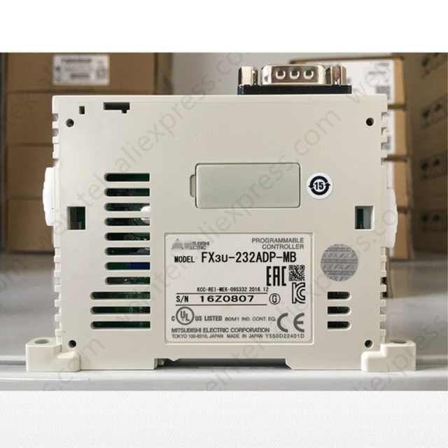 US $76 0 |Aliexpress com : Buy FX3U 232ADP MB MELSEC F PLC RS232  Communication Block for FX3U/3G/3GE (Brand New & Original) from Reliable  box