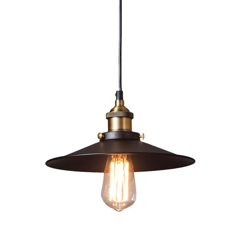 LEDMOMO Edison Vintage Retro Industrial Pendant Lamp Light Loft Hanging  Ceiling Lamp E27 Holder Bar Counter