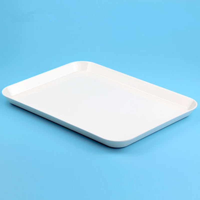 3 Sizes Rectangular White Food Serving Tray European Cake Plate Tea Coffee Cutlery Tray Storage-in Storage Trays from Home u0026 Garden on Aliexpress.com ... & 3 Sizes Rectangular White Food Serving Tray European Cake Plate Tea ...