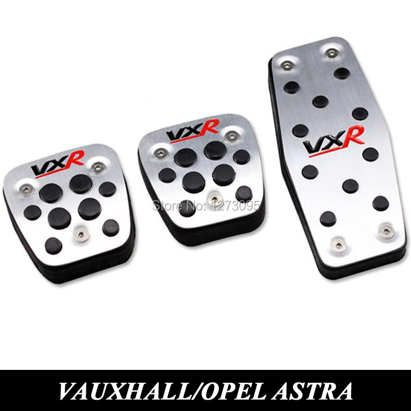 Prix pour Pour 2011 à 2015 Vauxhall Opel Astra J Insignes De Voiture Embrayage Gaz Pédale De Frein En Aluminium/Acier Accélérateur Pédales Couverture voiture Accessoire