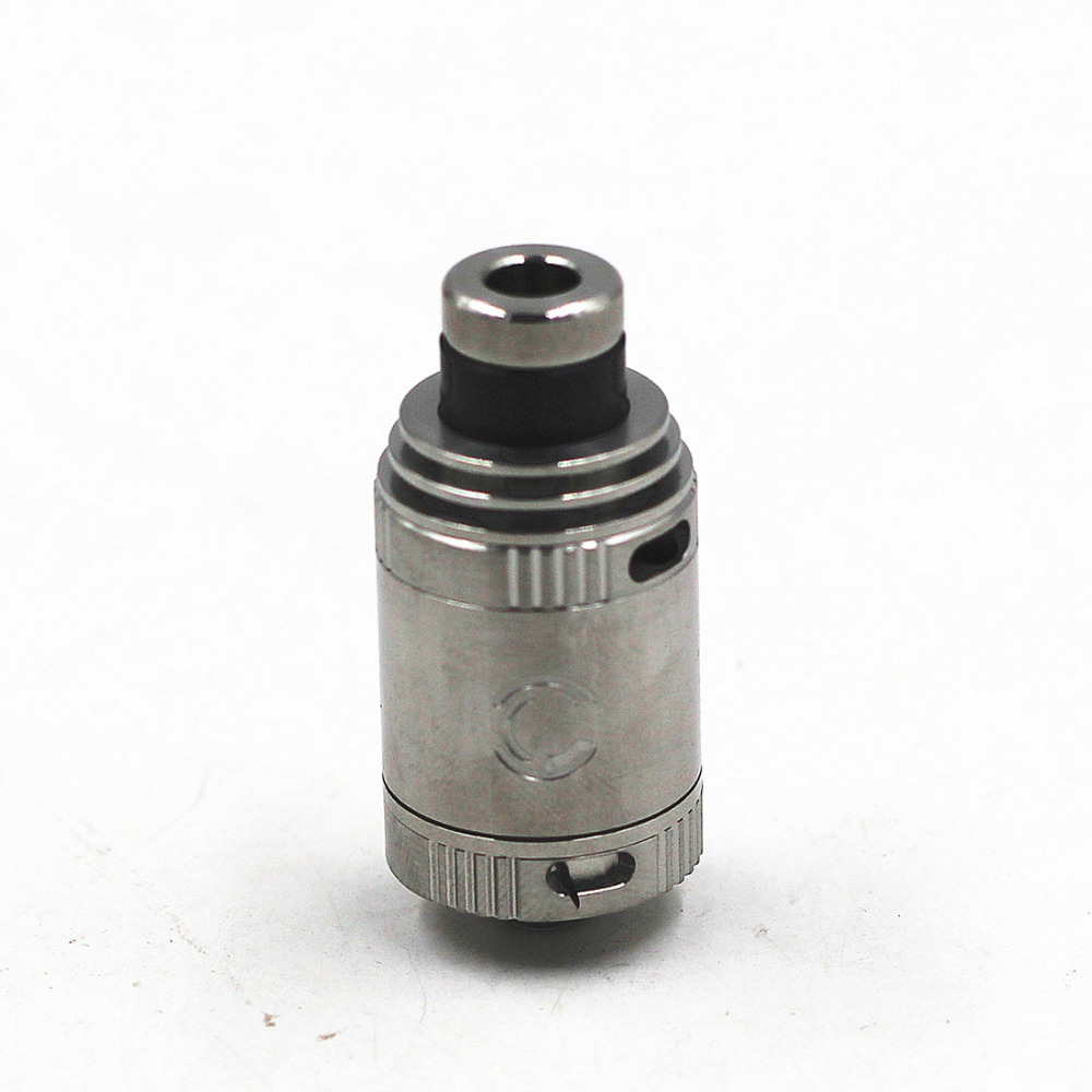Charm RDA Dual Coils DIY Rebuildable Dripping Atomizer Dripper Airflow Control Mech 22mm Tank