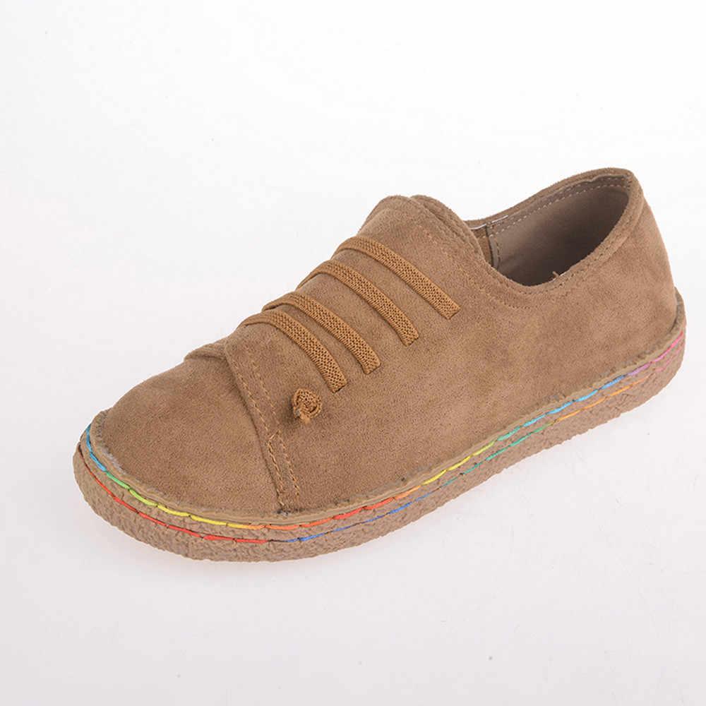 CAGACE/2018, 2018 г. Хит продаж, модные женские мягкие ботильоны на плоской подошве женские замшевые ботинки высокого качества из кожи