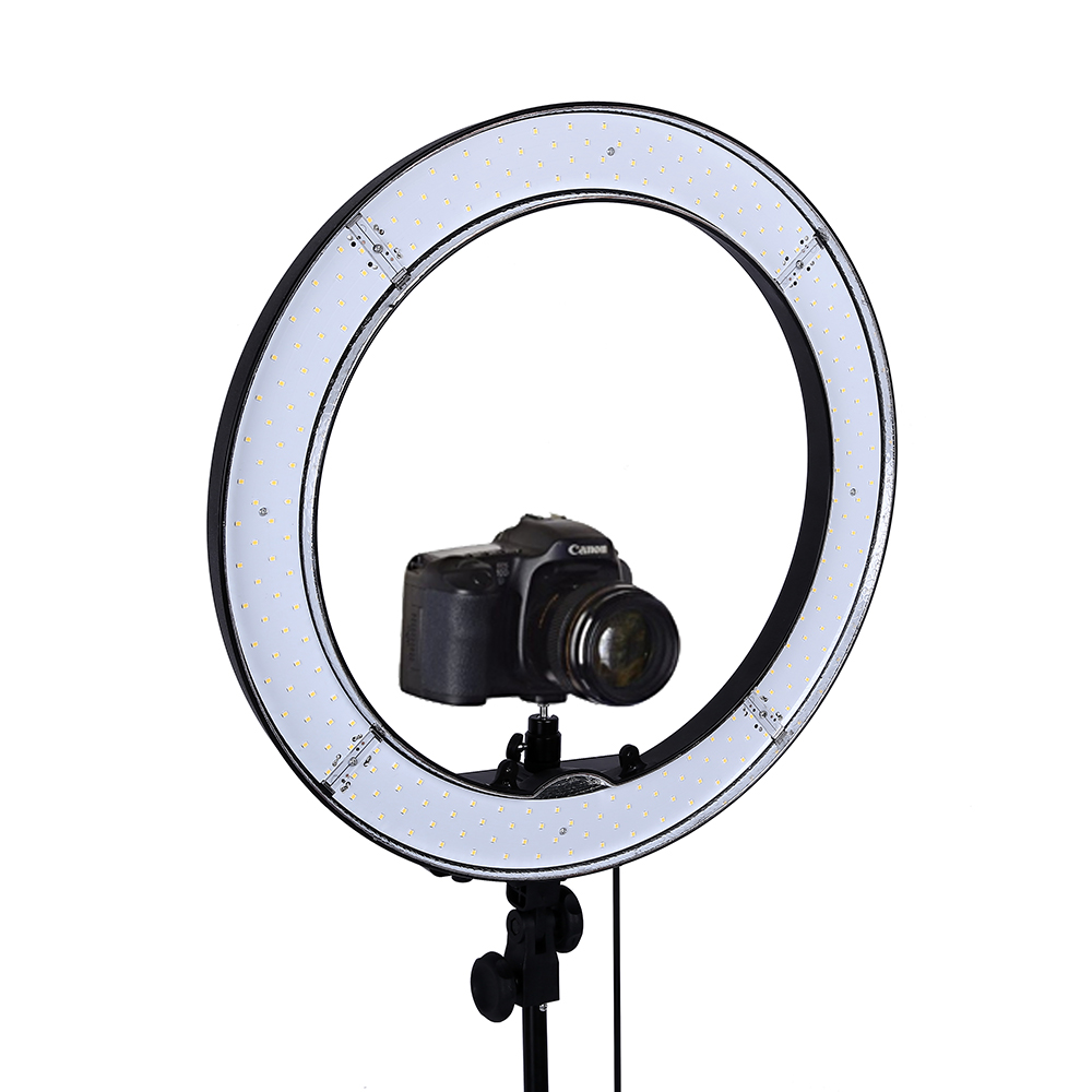 55W 18inch Camera Phone LED Ring Light Photography studio Dimmable Ring Lamp With Stand Tripods For TikTok Youtube Makeup Video