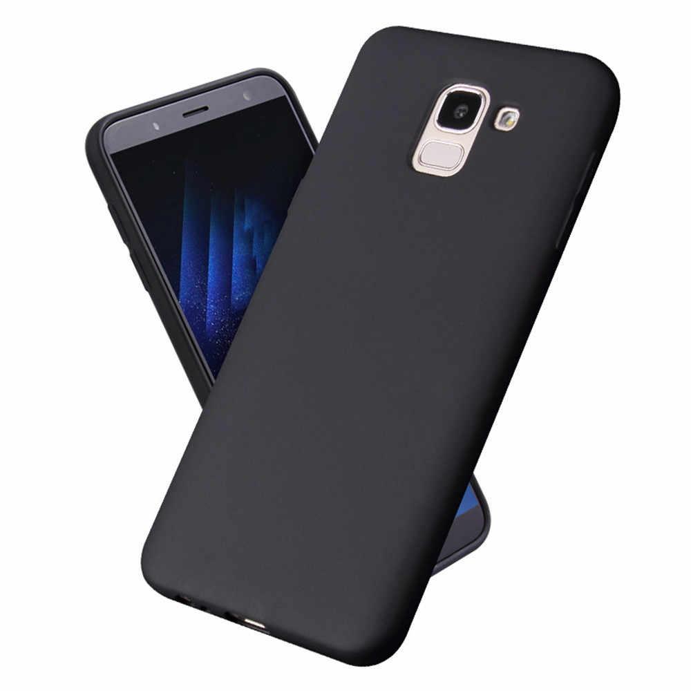 Candy Macaron สำหรับ Samsung Galaxy J4 J6 PLUS J8 S8 S9 S8 PLUS หมายเหตุ 8 9 A6 A8 A9 a7 A750 2018 J7 Duo MAX นุ่มซิลิโคน