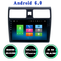 For Suzuki Swift Android 6 0 Octa Core Car Radio Gps With 2G RAM 32g ROM
