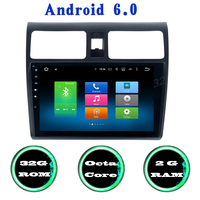 For Suzuki Swift Android 6 0 Octa Core Car Radio Gps With 2G RAM 32g ROM
