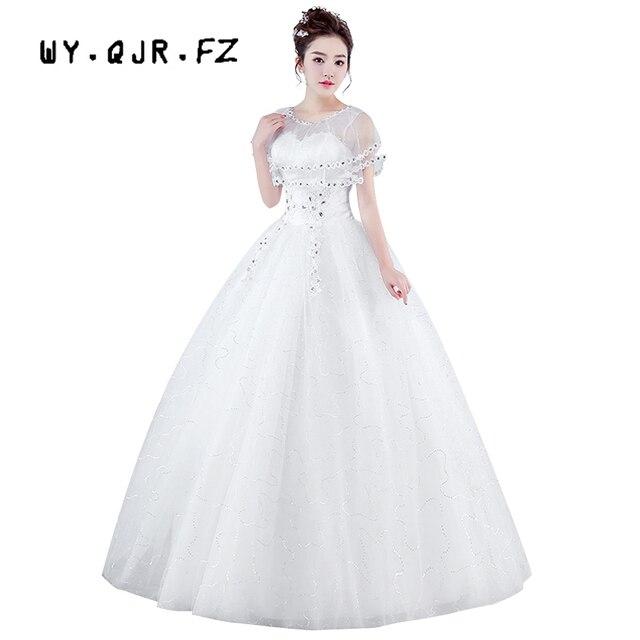 01d742269a451 XXN # robe de mariée blanche et rouge à lacets robe de mariée grande taille  robe