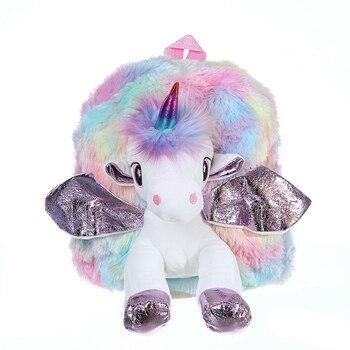 Tas Ransel Anak Boneka Unicorn  2