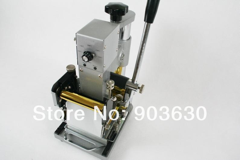 Kõrge kvaliteet! 220 V / 110 V käsitsi kulla kuumfooliumiga - Tööriistakomplektid - Foto 4