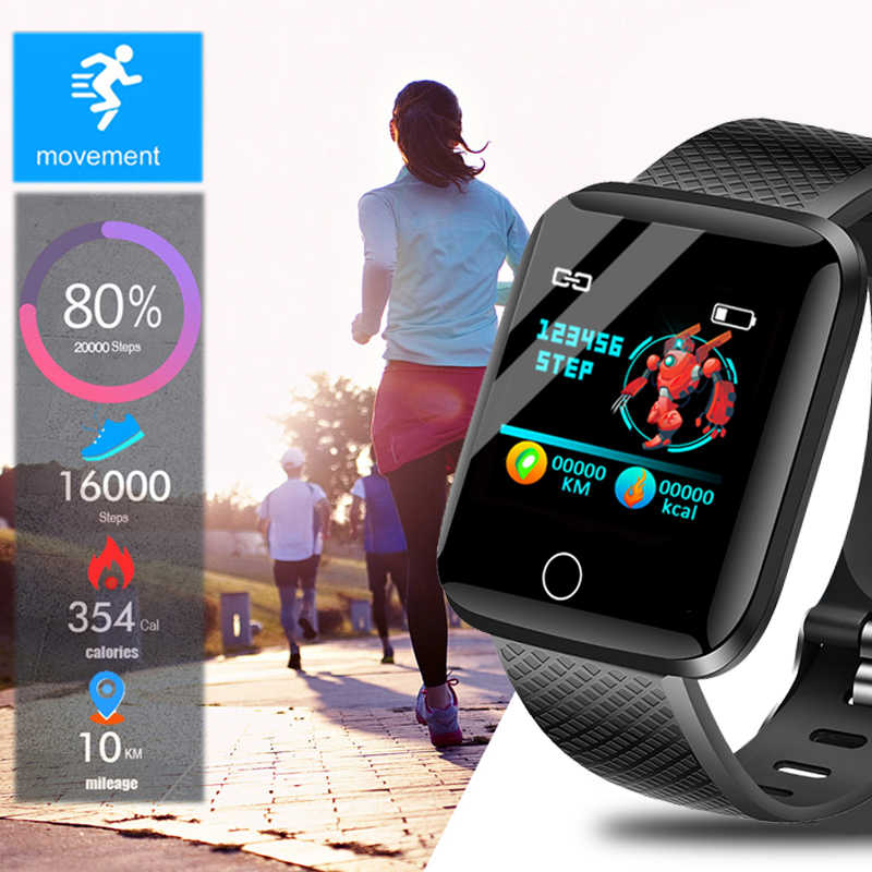 LIGE Новые смарт-часы для фитнеса для мужчин и женщин кровяное давление пульсометр устройство отслеживания с Bluetooth Шагомер умный Браслет