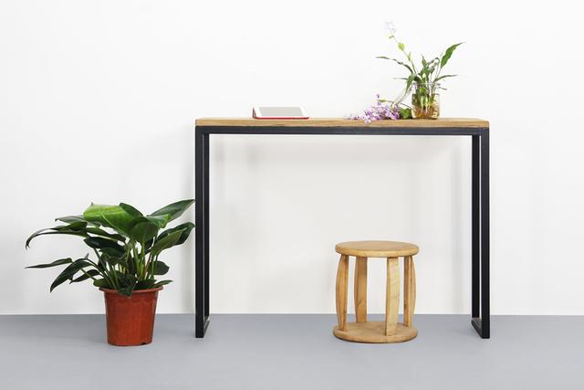 Simple And Modern Wood Furniture Computer Desk Desk Console Table Glove  Zhuojiao Several Square Side Table