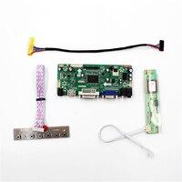 HDMI VGA DVI audio lcd kontrol paneli için uyumlu 1280x800 LTN154AT10-C LP154WX2-TL01 LTN154XA L01 HT154WX1 200 LCD panel