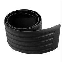 Car Styling Black Rubber Rear Guard Bumper Protector Trim Cover For BMW E46 E52 E53 E90