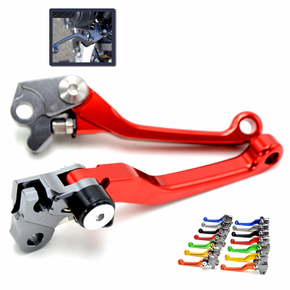 7 colors New arrival Motorcycle CNC Pivot Brake Clutch Levers For Honda CRF 250/450 R CRF250X CRF 450R 450X XR230/MOTARD