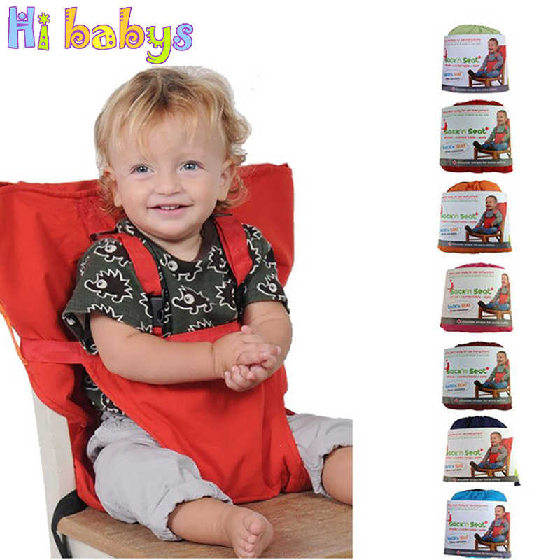 Baby Chair Portable Infant Seat Carrier Dining Lunch Chair/Seat For Kids Safety Belt Feeding High Chair Harness Baby Chair Seat