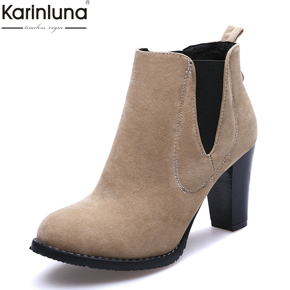 b0d5fcdb48b ... botas para mujer Online Baratos . Comprar Karinluna a estrenar tallas  grandes ...