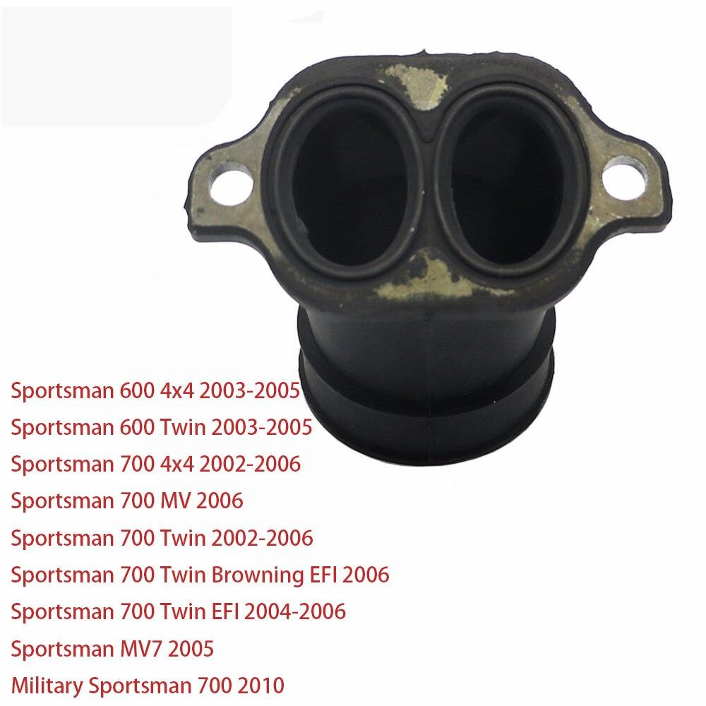 CARBURETOR /& INTAKE MANIFOLD ADAPTER BOOT FIT POLARIS SPORTSMAN MV7 2005