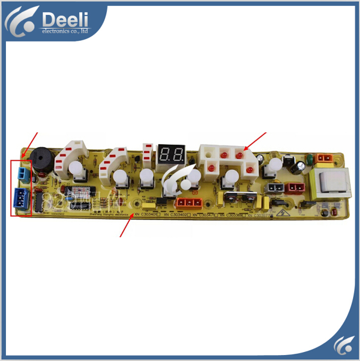 98% new Original good working for washing machine Computer board WI4538S motherboard on sale 95% new original good working for sanyo washing machine computer board xqg75 f1129w motherboard 1set