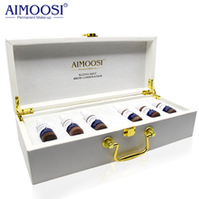 6 bottles/set AIMOOSI Native mist Fog Semi-Permanent makeup Microblading Tattoo ink for eyebrow pigment Professional ink free shipping 6 bottles aimoosi eyebrow munsu beauty makeup pigment 15ml bottles permanent tattoo makeup ink goochie quality
