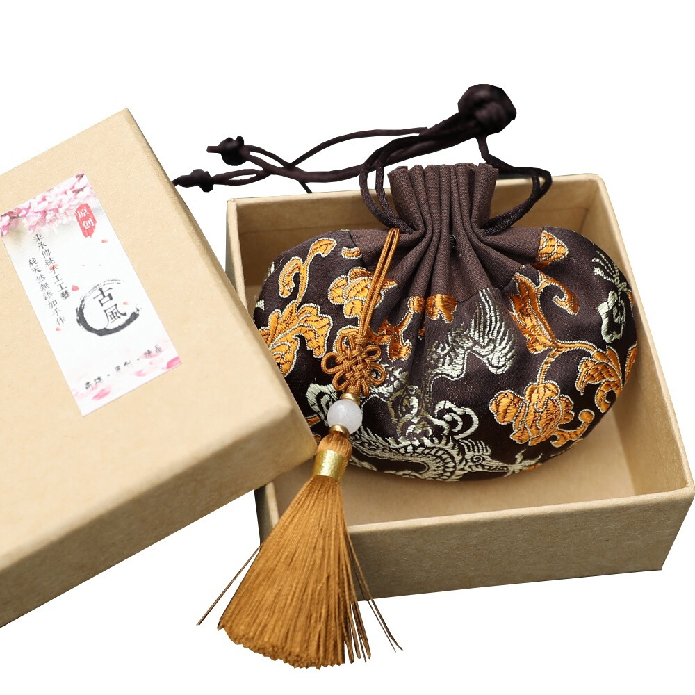 Silk High Quality Chinese Style Palace Sachet Bag Retro Series Palace Sachet Bag Tassel Jewelry Bags Car Decoration Gift Bag