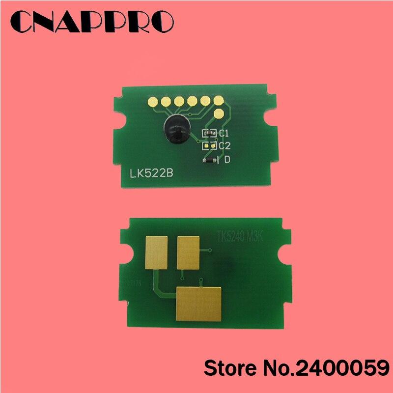 1set/lot Compatible Kyocera ECOSYS P5021cdn P5021cdw M5521cdn M55521cdw P5021 M5521 toner cartridge chip TK5524 TK5524K TK-5524 compatible toner chip cartridge for kyocrea fs 3900d cartridge chips for kyocrea tk 320 tk 321 tk 322 tk 323 tk 324