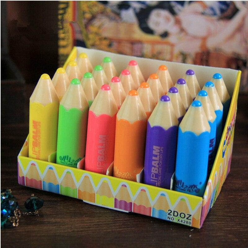 Купить на aliexpress Новые питательные увлажняющие губные помады бальзам для губ фантастические мелки фанки унисекс карандаш в форме сплошной