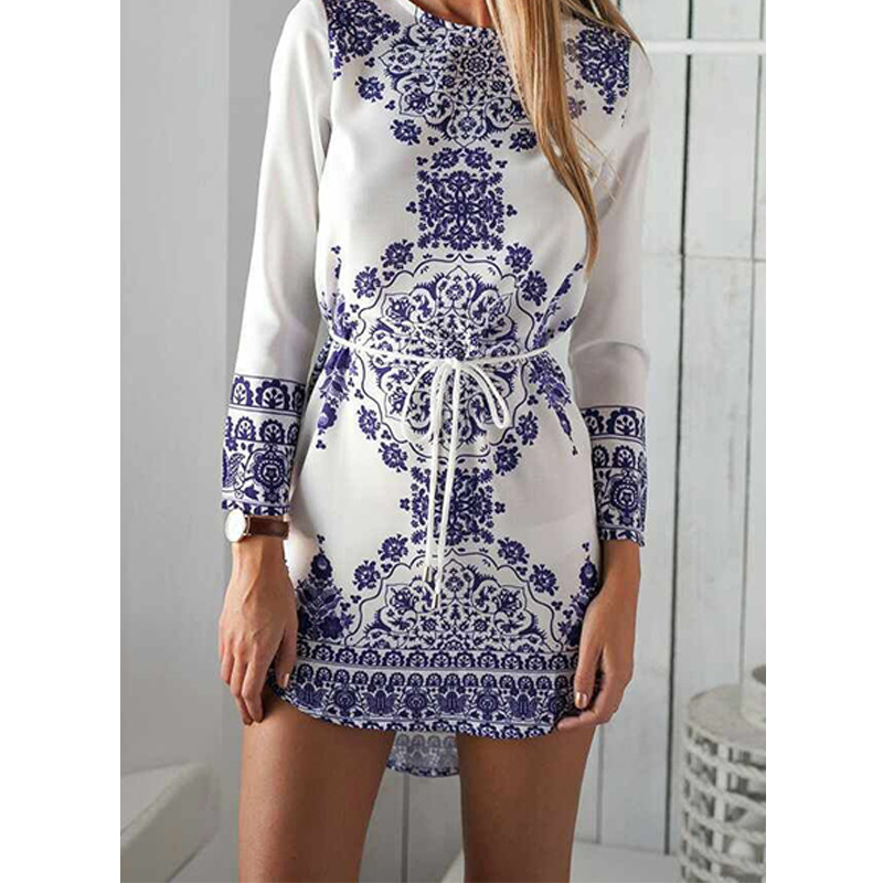 Aliexpress.com : Buy Chinese National Style Blue And White ...