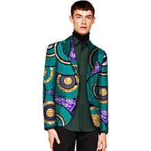 Customize dashiki suits mens african print blazers for party handsome man brightly pattern african clothing made to measure