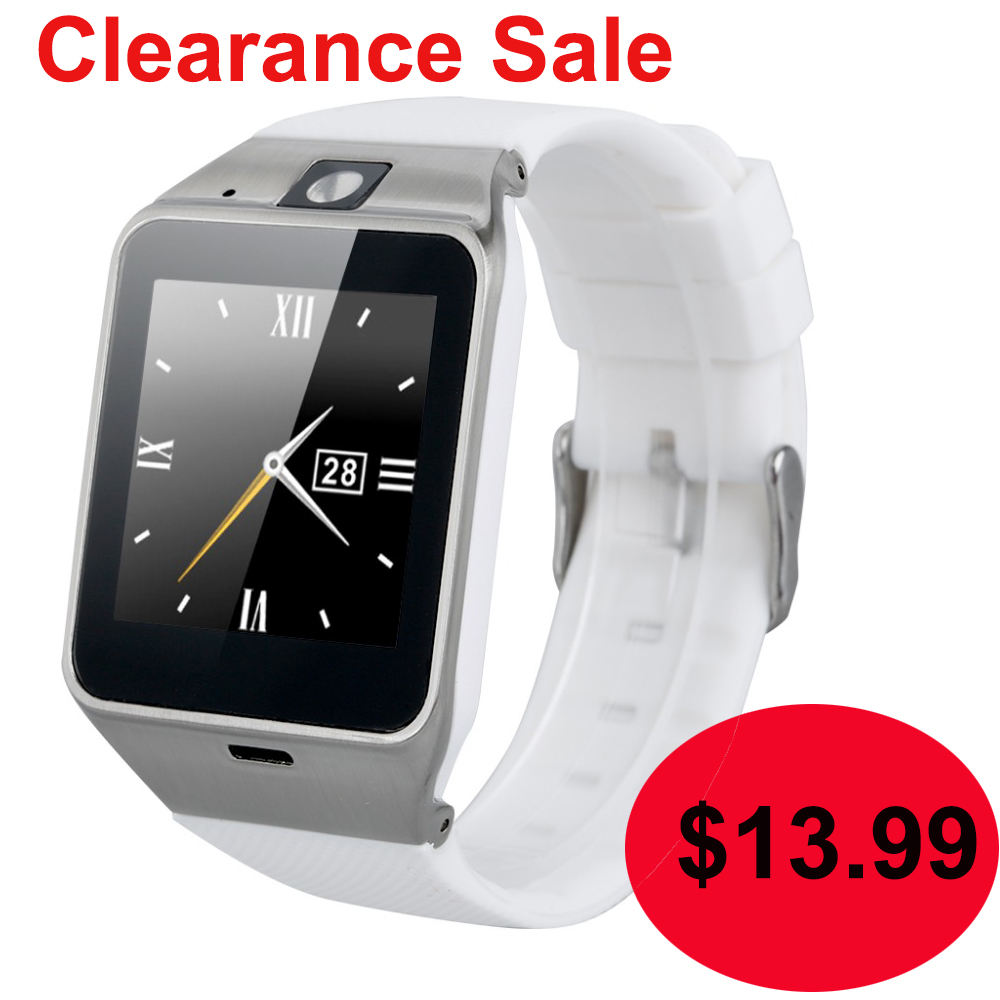Smart Watch GV18 Clock Sync Notifier Support Sim Card Bluetooth Connectivity Android Phone Smartwatch Alloy Watch