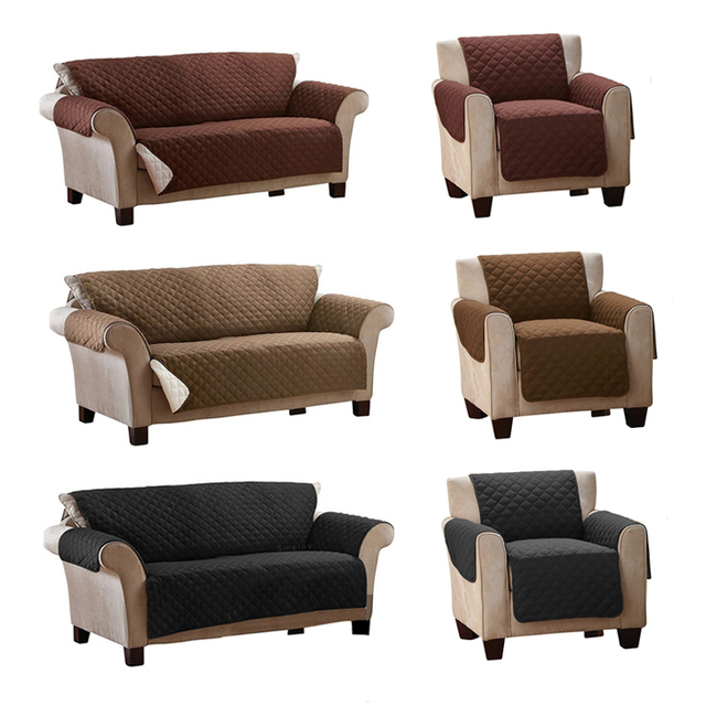 US $18.9 30% OFF|Smelov solid plaid sofa cover waterproof washable pet dog  sofa protector couch covers mat 1/2/3 seater sofa armrest slipcovers-in ...