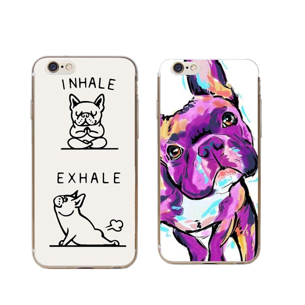 Cellphones & Telecommunications Phone Pouch Boston Terrier Watercolor Hard Cover For Iphone 5 5s Se 6 6s Plus 7 7plus 8 8plus Bulldog Phone Case For Iphone X