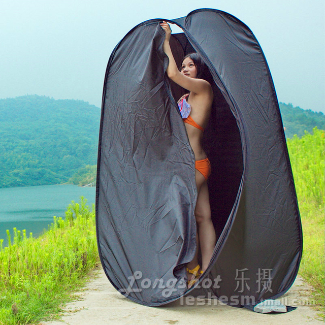 DHL TNT 2M Collapsible Indoor Outdoor C&ing Photo Studio Pop Up Changing Dressing Tent black Fitting : pop up change tent - memphite.com